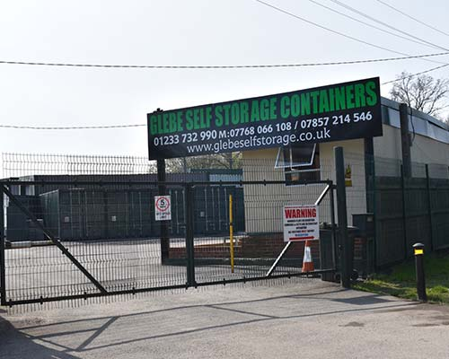 Glebe Self Storage Site