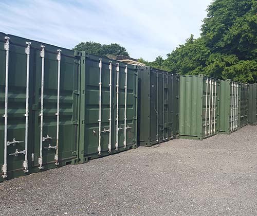 storage container rental near Brookland